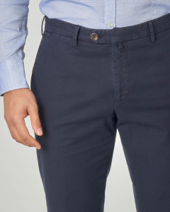 Pantalone blu micro-armatura