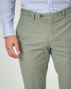 Pantalone verde micro-armatura