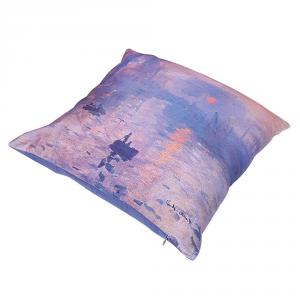 Cuscino arredo decorativo RANDI 40x40 Quadri d'Autore Monet Levar del Sole