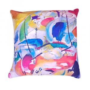 Cuscino arredo decorativo RANDI 40x40 Quadri d'Autore Improvvisazione Kandinsky