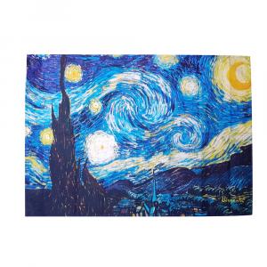 Strofinaccio canovaccio da cucina 50x70 cm RANDI NOTTE STELLATA Van Gogh