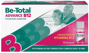 BE-TOTAL ADVANCE B 12 INTEGRATORE ALIMENTARE IN FLACONCINI