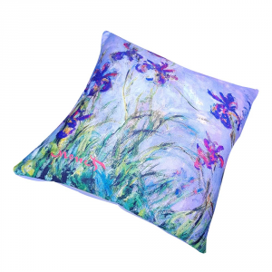 Decorative decor cushion RANDI 40x40 Quadri d'Autore Iris Monet