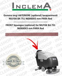 Gomma tergi ANTERIORE (optional) per NILFISK BA 751