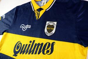 1996 Boca Juniors '90 Aniversario' Maglia Home XL
