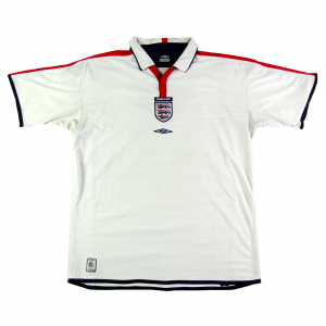 2003-05 Inghilterra MAGLIA HOME XL