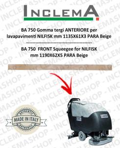 BA 750 Gomma tergi ANTERIORE per NILFISK