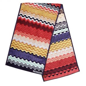 Missoni Home Fitness towel 40x160 cm LARA 156 warm fantasy