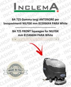 BA 725 Gomma tergi ANTERIORE per lavapavimenti NILFISK