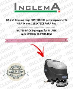 BA 755 Gomma tergi POSTERIORE per lavapavimenti NILFISK