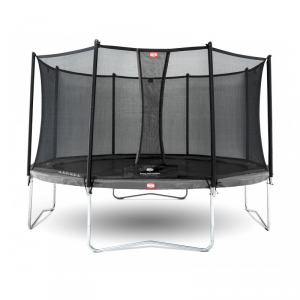 Trampolino Tappeto Elastico Berg Favorit Grey Safety Net Comfort Varie Misure