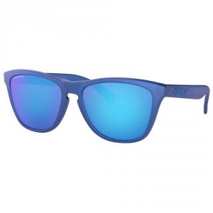 Oakley - Occhiale da Sole Unisex, Frogskins, X-Ray Blue/Prizm Sapphire OO9013- C7 C55