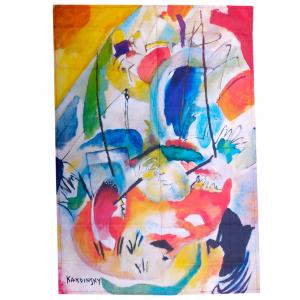 Strofinaccio canovaccio da cucina 50x70 cm RANDI Improvvisazione Kandinsky