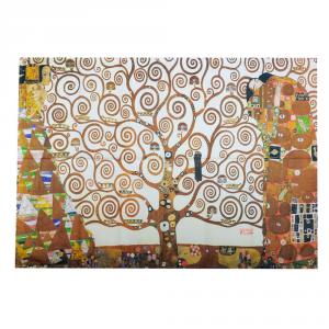 Strofinaccio canovaccio da cucina 50x70 cm RANDI Albero della Vita Klimt