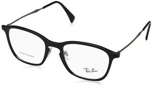 Ray Ban - Occhiale da Vista Unisex, Matte Black Graphene, RX8955 8025 C51