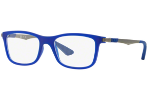 Ray Ban - Occhiale da Vista Unisex Kids, Junior Optical, Matte Blue RY1549 3655 C48