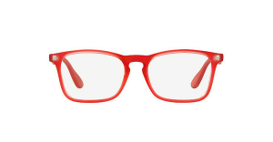 Ray Ban - Occhiale da Vista Unisex Kids, Junior Optical, Rubber Red RY1553 3669 C48