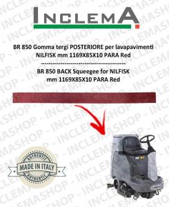 BR 850 Gomma tergi POSTERIORE per lavapavimenti NILFISK