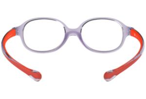 Ray Ban - Occhiale da Vista Unisex Kids, Junior Optical, Trasparent Light Violet RY1587 3765 C39