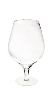Calice Vino grande in Vetro Soffiato cm.50h diam.29