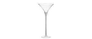 Coppa Martini grande in Vetro Soffiato cm.70h diam.30
