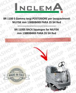 BR 1100 S Gomma tergi POSTERIORE per lavapavimenti NILFISK