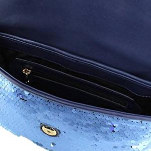 Tracolla con paillettes colore blu - PATRIZIA PEPE
