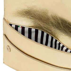 Pochette color oro - PATRIZIA PEPE