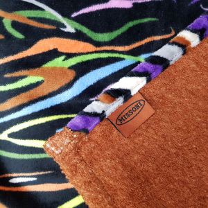 Missoni Home Beach towel  IMAN 100x150 cm black