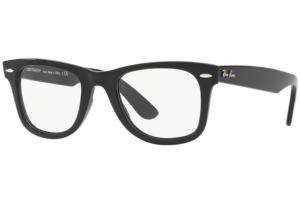Ray Ban - Occhiale da Vista Unisex, Wayfarer Ease Optics, Matte Black RX4340 2000 C50