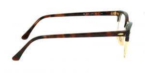 Ray Ban - Occhiale da Vista Unisex, Clubmaster Optics, Gold Tortoise RX5154 2372 C51