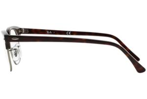 Ray Ban - Occhiale da Vista Unisex, Clubmaster Optics, Silver Tortoise RX5154 2012 C51