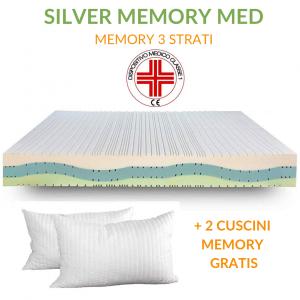 Materasso Memory Ortopedico Dispositivo Medico alto 20 cm | Silver Memory Med |Prezzi a partire da