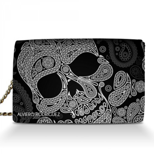 Sac à bandoulière Alviero Rodriguez ABSTRACT SKULL TRACOLLA AS Unico