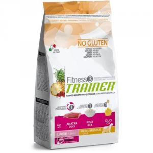 Trainer Fitness3 - Junior Medium/Maxi No Gluten 3kg