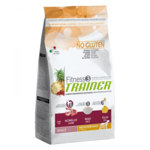 Trainer Fitness 3 Adult Medium/Maxi No Gluten 3kg
