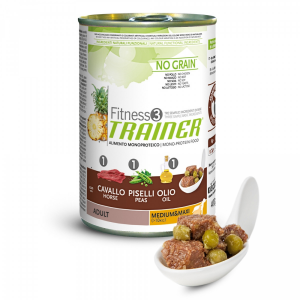 Trainer Fitness 3 No Grain Adult Medium&Maxi 400gr
