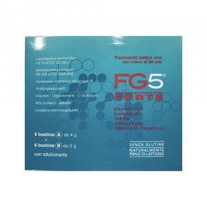 FG5 FORTE - INTEGRATORE A BASE DI PROBIOTICI, FIBRE E VITAMINA B
