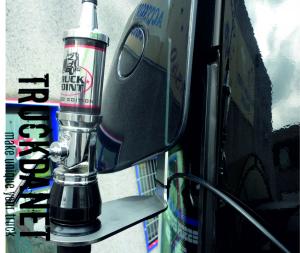 VOLVO Staffa per antenna CB (per Volvo FH4)