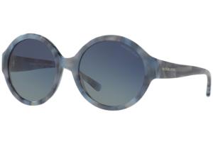 Michael Kors - Occhiale da Sole Donna, Seaseide Getaway, Marbled Blue/Blue MK 2035 32094L C55