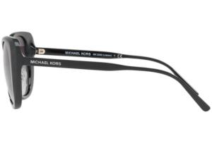 Michael Kors - Occhiale da Sole Donna, Lisbon, Black/Smoke Gradient MK 2062 3177/11  C52