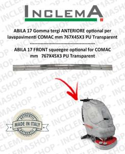 ABILA 17 gomma tergi ANTERIORE optional per lavapavimenti COMAC