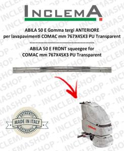 ABILA 50 E gomma tergi ANTERIORE optional per lavapavimenti COMAC till s/n 111011125