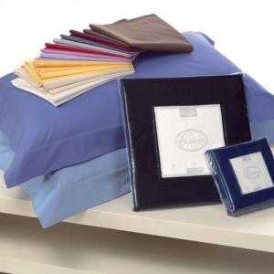 Cassera coppia di federe 50x80 cm percalle di cotone - vari colori