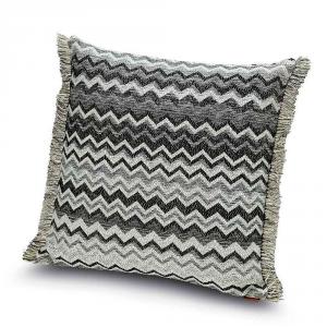 Cuscino decorativo da salotto 40x40 cm Missoni Home WIPPTAL bianco e nero