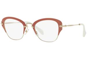 Miu Miu - Occhiale da Vista Donna, Noir, Dark Rose VMU53O VAC1O1 C50
