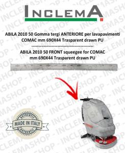 ABILA 2010 50 Gomma tergi ANTERIORE per lavapavimenti COMAC Plastic Sq. From 111011126