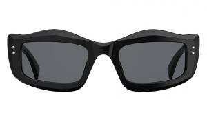 Moschino - Occhiale da Sole Donna, Black and Studs/ Dark Grey MOS029/S 807/IR  C51