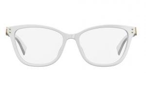Moschino - Occhiale da Vista Donna, White MOS500 VK6  C52