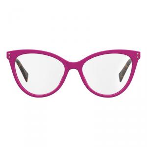 Moschino - Occhiale da Vista Donna, Fuchsia/Tortoise MOS503 MU1  C53